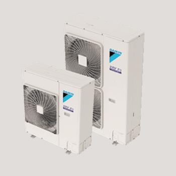 Daikin VRV IV-S Series outdoor multi-zone ductless unit.