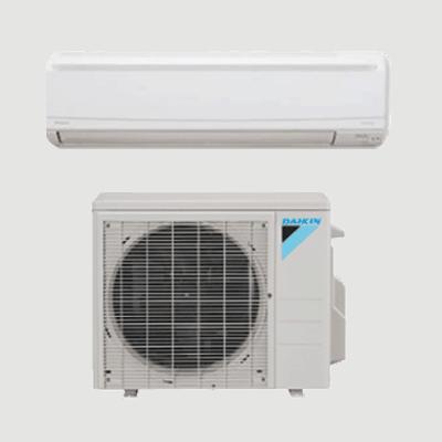 Daikin LV Series Wall Mount single-zone heat pump.