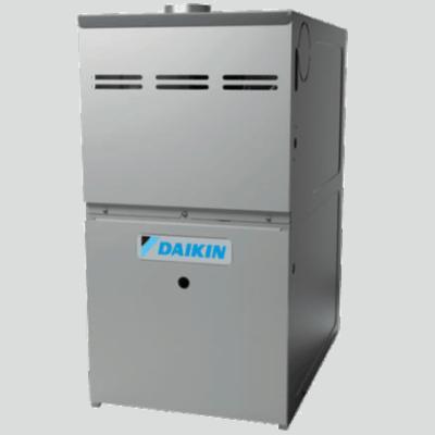 Daikin DM80VC gas furnace.