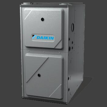 Daikin DM96CV gas furnace.